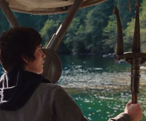 trident, logan lerman, and percy jackson image