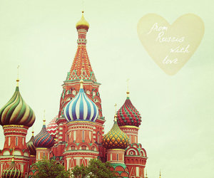 love, russia, and travel image