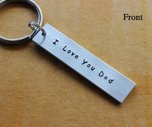 etsy, gifts for him, and personalize keychain image