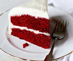 cake, red velvet, and chocolate image
