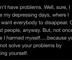 problem, self harm, and don't image