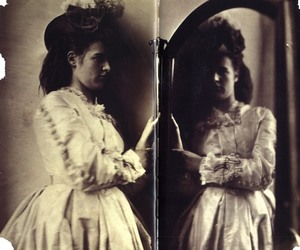 1800's, dress, and photo image