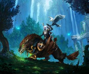 warcraft, wow, and art image