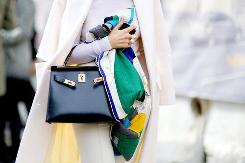 fashion, bag, and hermes image