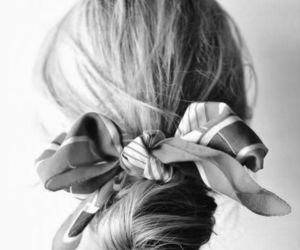 black and white, hair style, and fashion image