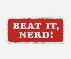red, peter parker, and beat it nerd image