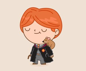harry potter and ron weasley image