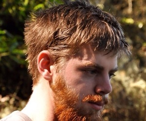 beard, boys, and freckles image