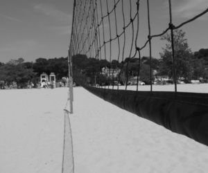 beach, sand, and sport image