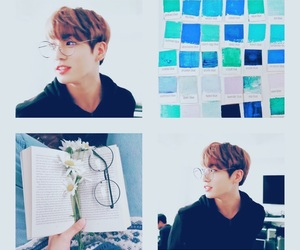 aesthetic, blue, and k-pop image