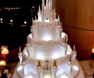 cake, disney, and castle image