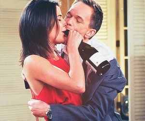 how i met your mother, Barney Stinson, and robin scherbatsky image