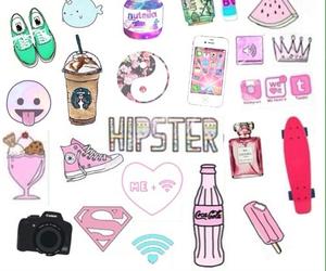hipster, starbucks, and vans image