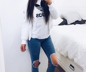 fashion, adidas, and outfit image