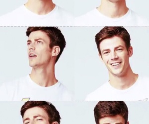 smile, grant gustin, and cute image