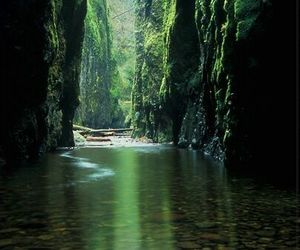 beautiful, water, and green image