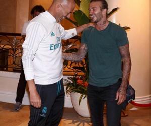 David Beckham, football players, and football image