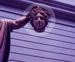 Versace, art, and statue image