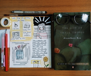 art journal, artsy, and books image