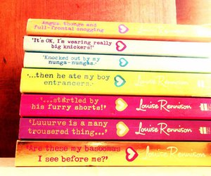 angus, books, and louise rennison image