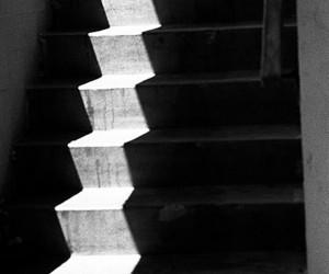 b&w, black & white, and light image