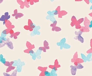 butterfly, cover, and pink image