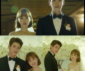 ending, wedding, and kdrama image