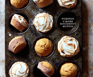 food, muffin, and sweet image