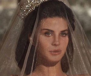 Queen, wedding, and lana del rey image