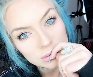 blogger, blue eyes, and tumblr girls image