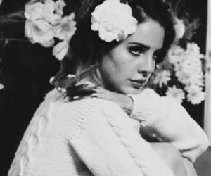 lana del rey, vintage, and black and white image