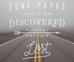 quotes, lost, and discover image