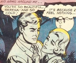 comic and vintage image
