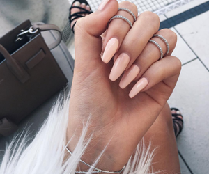 nails, perfect, and cute image