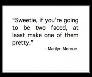 quote, Marilyn Monroe, and pretty image