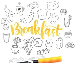 breakfast and doodle image