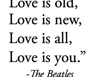 beatles, quote, and love image