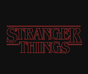 stranger things, netflix, and series image