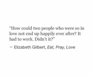 love, quote, and eat image