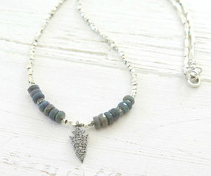 arrow, tribal, and opal image