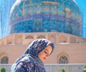 blue, iran, and travel image
