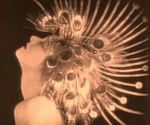 1923, alla nazimova, and peacock image