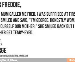 harry potter, dead, and Fred image