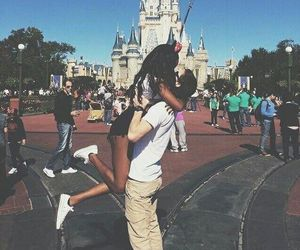 love, couple, and disney image
