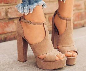 fashion, high heel, and cute image