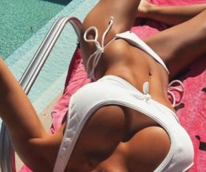 bikini, summer, and body goals image