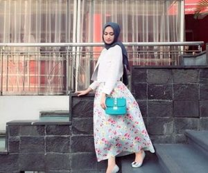 hijab, spring, and summer image