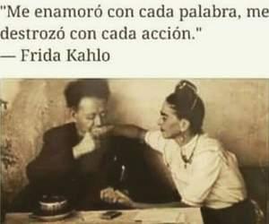 frases, frida kahlo, and desamor image