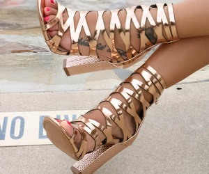 chunky, shoes, and heels image