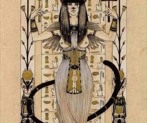 egypt, bast, and cat image